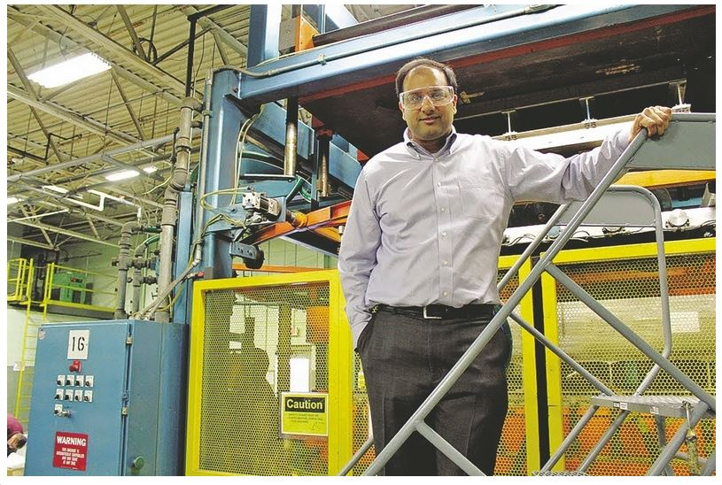 Kumar Trades Finance Job On Wall Street For Career In Plastics